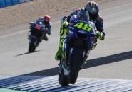 Lagi, Rossi Keluhkan Mesin Yamaha pada Hari Pertama Uji Coba di Jerez