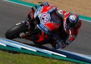 Jatuh Saat Uji Coba di Jerez, Dovizioso Keluhkan Jempol Tangan Kirinya