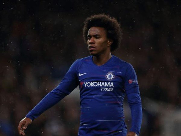 Willian Sindir Eks Bos Chelsea, Conte