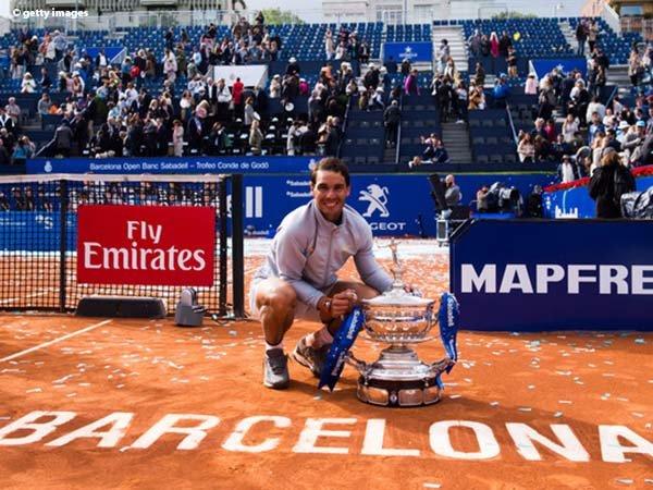 Rafael Nadal Dipastikan Tampil Di Barcelona Open 2019