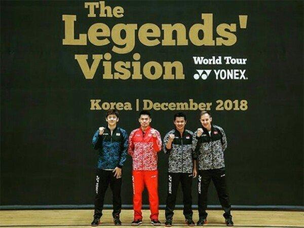 The Legends Vision Sambangi Korea Selatan
