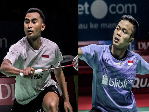 Tommy dan Anthony Lolos ke BWF World Tour Finals 2018