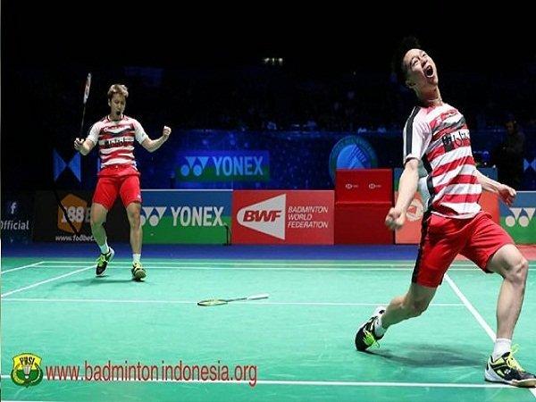 Jelang BWF World Tour Finals, Gill Clark Puji Penampilan Kevin/Marcus