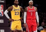 LeBron James Ingin Lakers Rekrut Carmelo Anthony