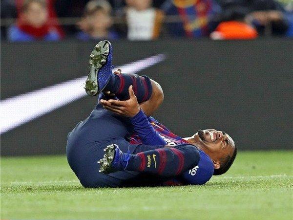Malcom Dipastikan Absen Perkuat Barcelona Saat Hadapi Spurs