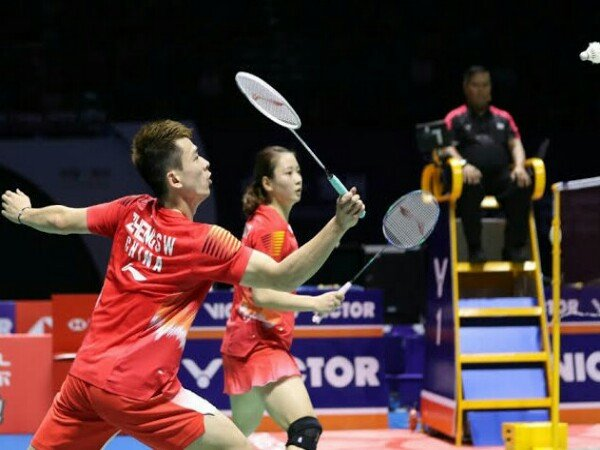 China Jamin Juara di Ganda Campuran BWF World Tour Finals 2018