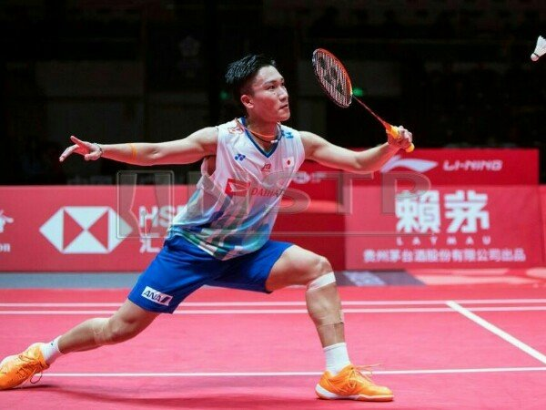 Kento Momota Tantang Shi Yuqi di Final BWF World Tour Finals 2018