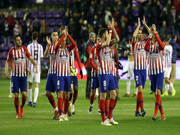 Taklukkan Valladolid, Simeone dan Godin Puji Semangat Juang Atletico Madrid