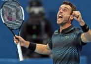 Mantap Betul, Roberto Bautista Agut Taklukkan Novak Djokovic Di Doha