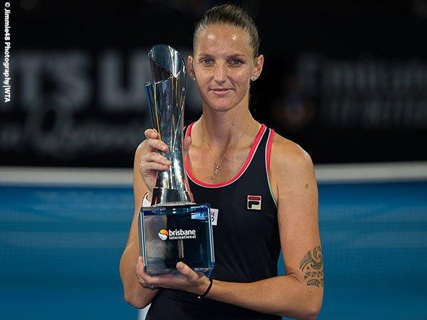 Karolina Pliskova Bawa Pulang Gelar Brisbane International