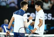 Taklukkan Novak Djokovic Di Australia Open Buka Jalan Bagi Dunia Tenis Korea, Klaim Hyeon Chung