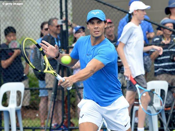 Usai Lakoni Ajang Eksibisi di Sydney, Rafael Nadal Tidak Merasa Kesakitan