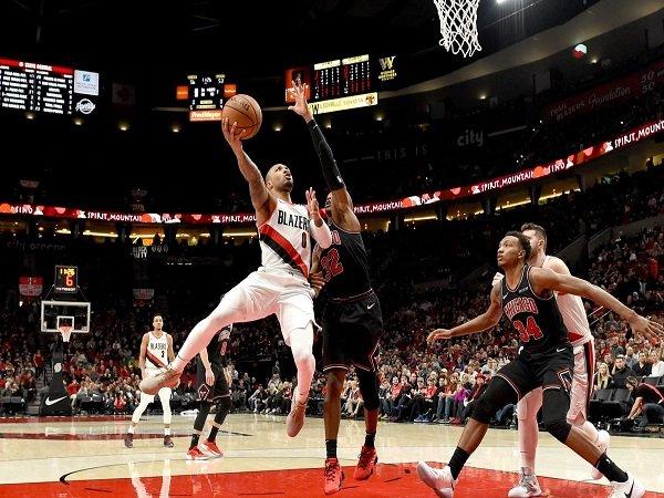 Portland Trail Blazers Menang Meyakinkan Atas Chicago Bulls