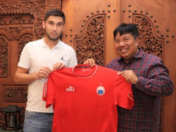 Ditinggal Pemain Terbaik Liga 1, Persija Datangkan Pemain Uzbekistan