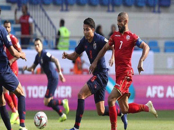 Thailand Raih Kemenangan Pertama di Piala Asia 2019