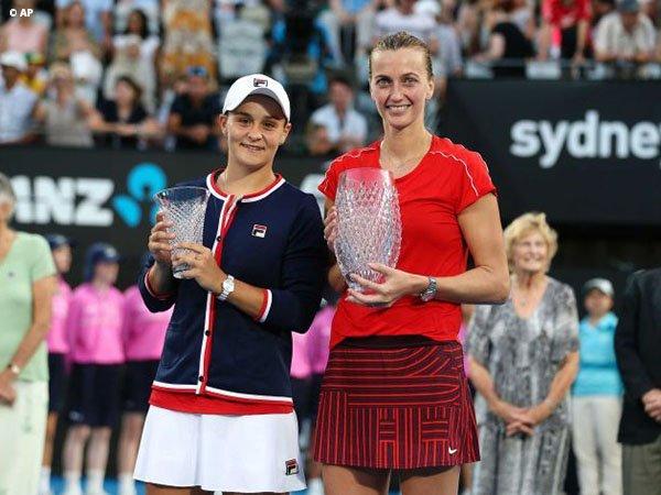 Jegal Ashleigh Barty, Petra Kvitova Keluar Sebagai Juara Di Sydney
