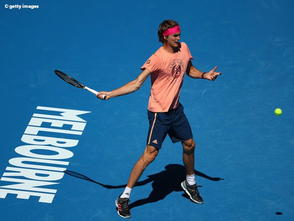 Sempat Diterpa Cedera, Alexander Zverev Tetap Rileks Jelang Australian Open