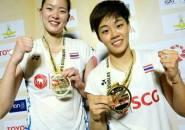 Tebus Kegagalan di Ganda Campuran, Sapsiree Raih Gelar Ganda Putri di Thailand Masters 2019