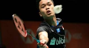 Masih Adaptasi, Anthony Dipaksa Main 3 Set di Laga Perdana Malaysia Masters 2019