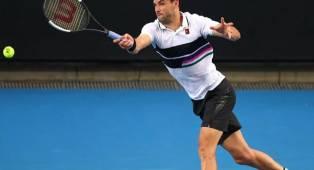 Hasil Australian Open: Grigor Dimitrov Selamat Dari Serangan Pablo Cuevas