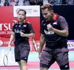 Lolos ke Babak Utama Indonesia Masters 2019, Rehan/Fadia Merinding Tanding di Istora