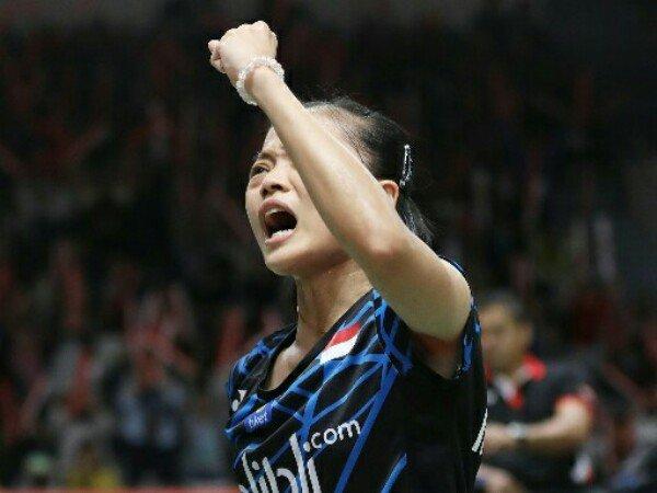 Fitriani Pulangkan Wakil Denmark di Babak Pertama Indonesia Masters 2019