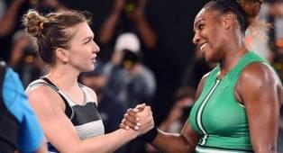 Serena Williams Selalu Tampil Memukau Lawan Simona Halep