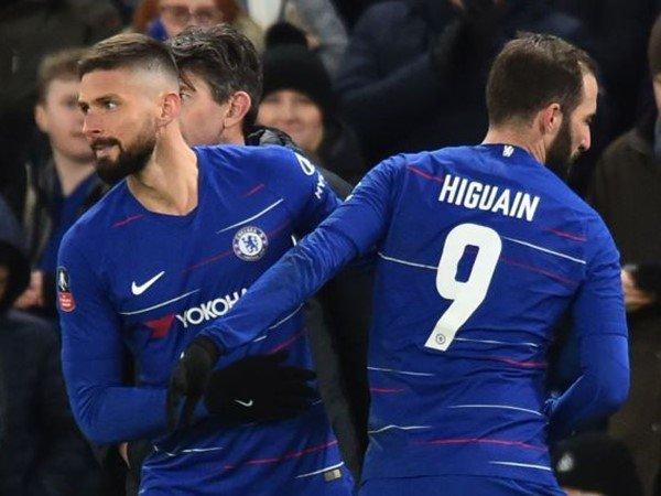 Giroud Sanjung Debut Higuain Bersama Chelsea | Liga Olahraga