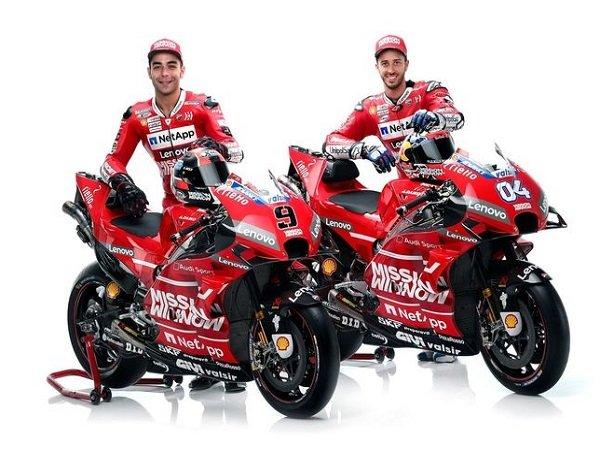 Ducati Taruh Harapan Besar pada Desmosedici GP19 di Tes Pramusim Malaysia