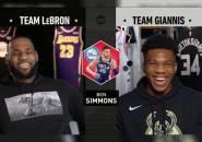 Feature: Ketika Giannis Curi Jagoan LeBron di Draft NBA All-Star 2019