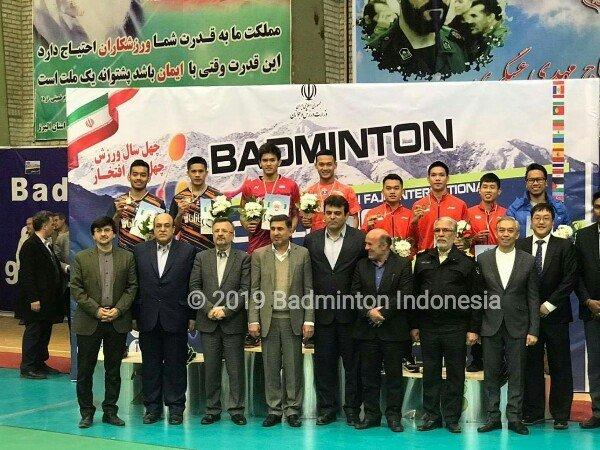 Indonesia Bawa Pulang Dua Gelar dari Iran International Challenge 2019