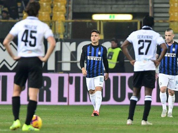 Kalah Tipis dari Inter, D'Aversa Sebut Parma Tidak Beruntung