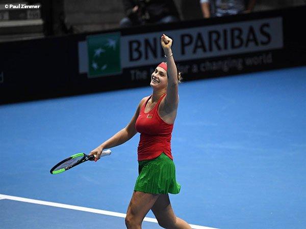 Hasil Fed Cup: Belarusia Dan Perancis Tembus Semifinal
