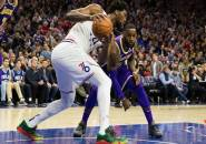 Melempem di Paruh Kedua, Lakers Tumbang Dari 76ers
