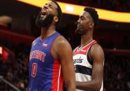Detroit Pistons Amankan Kemenangan Atas Washington Wizards