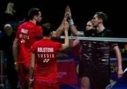 Rusia dan Inggris Menang Besar di Kejuaraan Beregu Campuran Eropa 2019