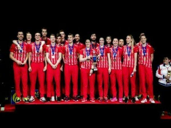 Kandaskan Jerman, Denmark Pertahankan Gelar Kejuaraan Beregu Campuran Eropa 2019