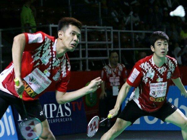 Superliga Badminton 2019: Fajar Alfian dan Yong Dae Saling Lempar Pujian