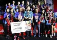 Atasi Jaya Raya, Mutiara Cardinal Juara Superliga Badminton 2019