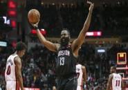 James Harden Membara, Rockets Bekuk Heat