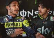 Francesco Bagnaia Belum Kepikiran untuk Kalahkan Rossi