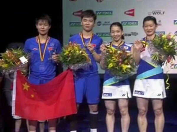 Kalahkan Juara Olimpiade, Du Yue/Li Yinhui Juara Ganda Putri German Open 2019