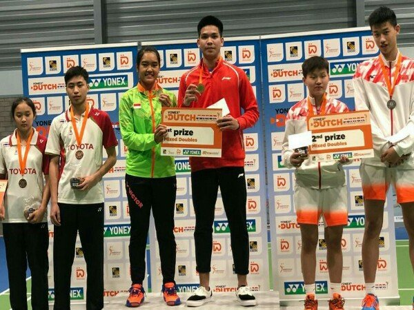Dutch Junior International 2019: Indonesia Sabet Dua Gelar Juara