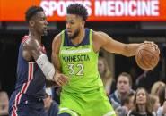 Minnesota Timberwolves Menangi Drama Overtime Kontra Washington Wizards