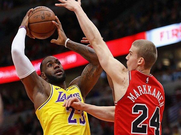 Los Angeles Lakers Putus Tren Negatif Dengan Kalahkan Chicago Bulls
