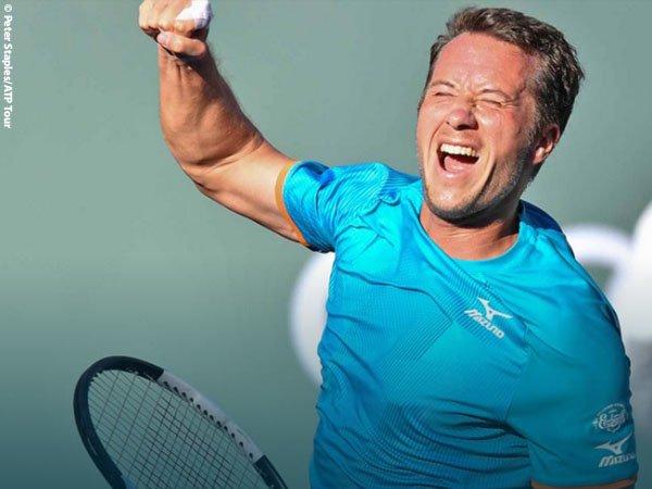 Mantap, Philipp Kohlschreiber Pulangkan Novak Djokovic Dari Indian Wells