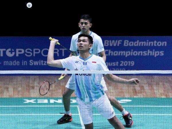 Berry/Hardi dan Fajar/Rian Lolos Babak Kedua Swiss Open 2019