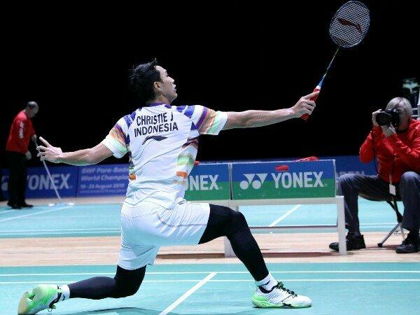 Jonatan Taklukkan Wakil Malaysia Di Babak Pertama Swiss Open 2019