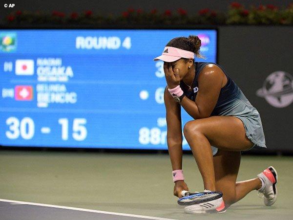 Walau Telan Kekalahan Pahit, Naomi Osaka Tetap Positif