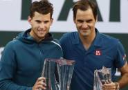 Robohkan Roger Federer, Dominic Thiem Naik Podium Juara Di Indian Wells